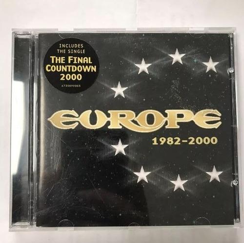 1 cd rock europe final countdown original 1982 2000 epic met