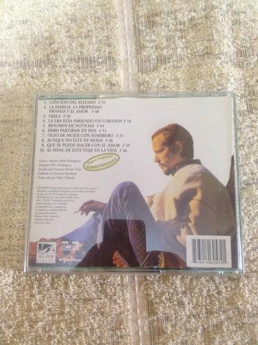 1 cd silvio rodriguez importado argentina