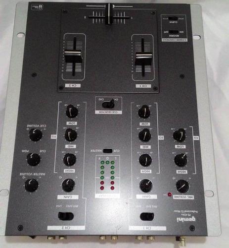 1 cdj 600 gemini e 1 mixer gemini ps 424x profissional