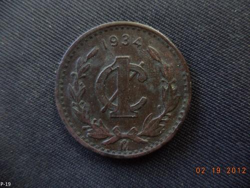 1 centavo 1934