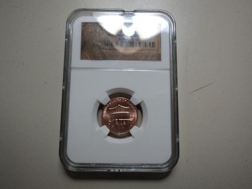 1 centavo certificado usa  2010