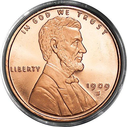 (1) centavo de lincoln trigo   1 oz .999 avdp muy bien alre