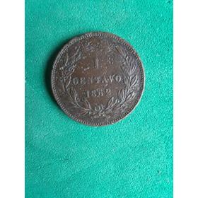 1 Centavo Monaguero 1862 Vf