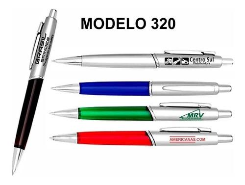 1 chaveiro brinde + 500 canetas personalizadas com sua logo