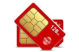 1 chip prepago claro a tarjeta nano sim activo ya cortado