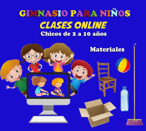 1 clase online recreativa divertida actividad física en casa