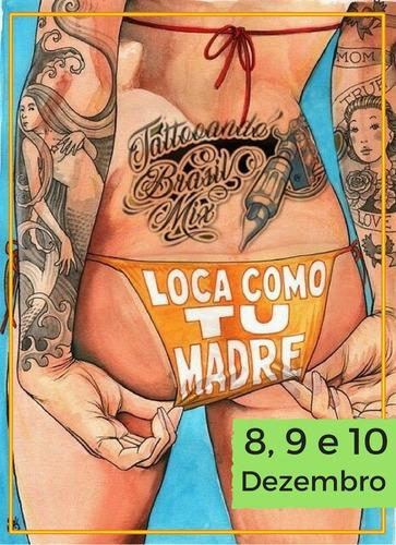1ª convenção nacional de tatuadores e bodypiercing.