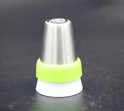 1 cople jumbo xl especial p/duyas rusas 4.5 cms diametro
