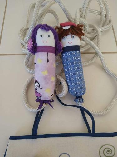 1 corda equipe em tecido