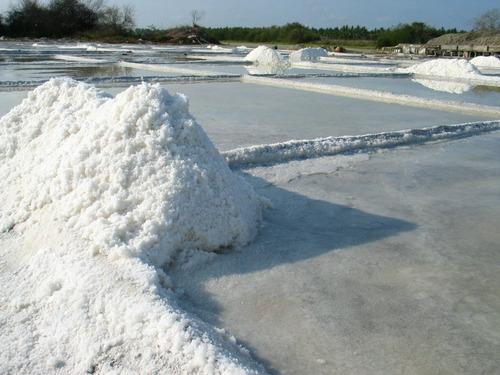 1 costal de 25 kilos de sal de mar orgánica 100% natural