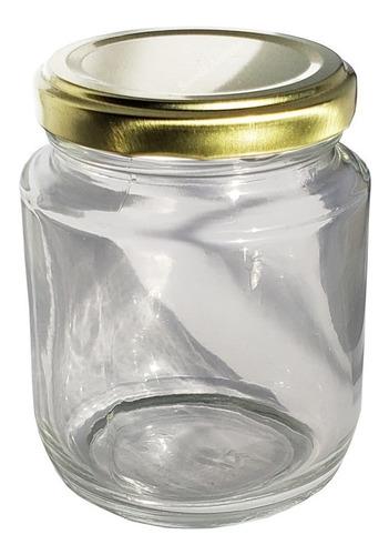 1 cx com 24 pote vidro tampa belém branca bolo geléia 240ml