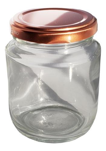 1 cx com 24 potes vidro belém tampa branca bolo 240ml