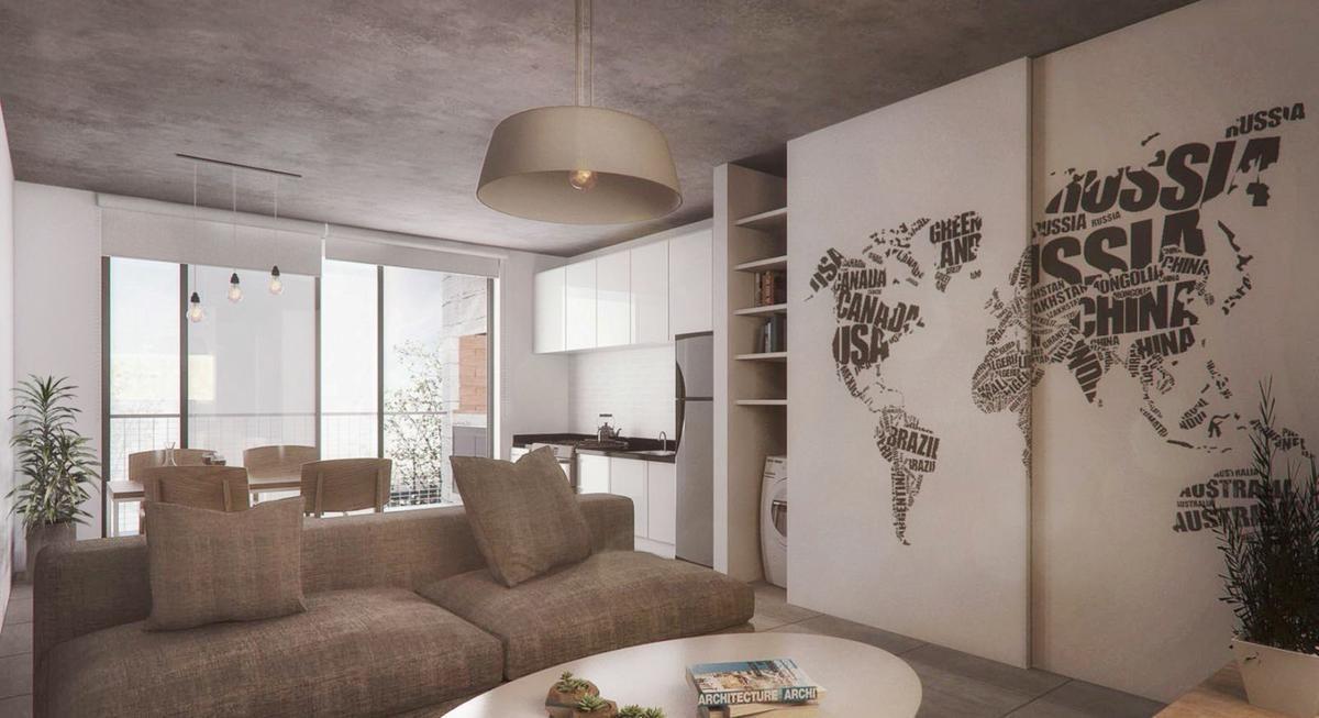 1 dorm. | opc. cochera | amenities