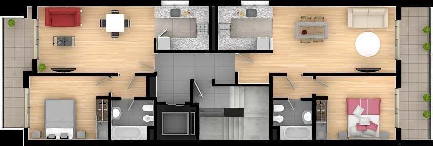 1 dormitorio | cochera
