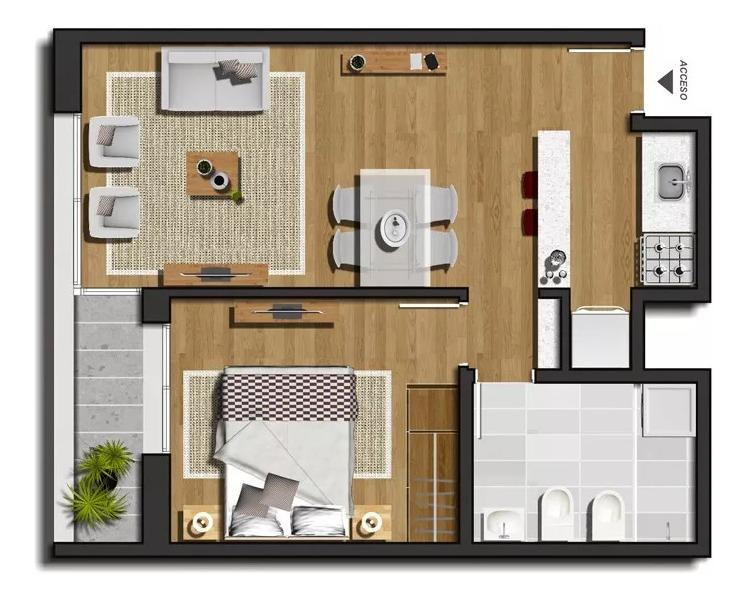1 dormitorio + cochera en tres cruces. nostrum plaza