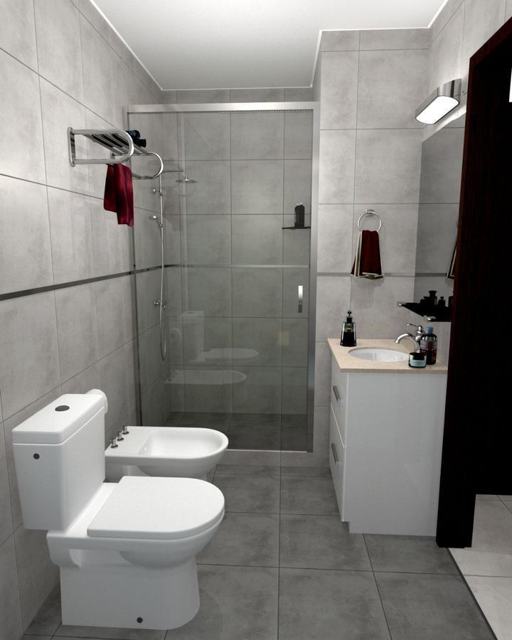 1 dormitorio  cocheras - amenities