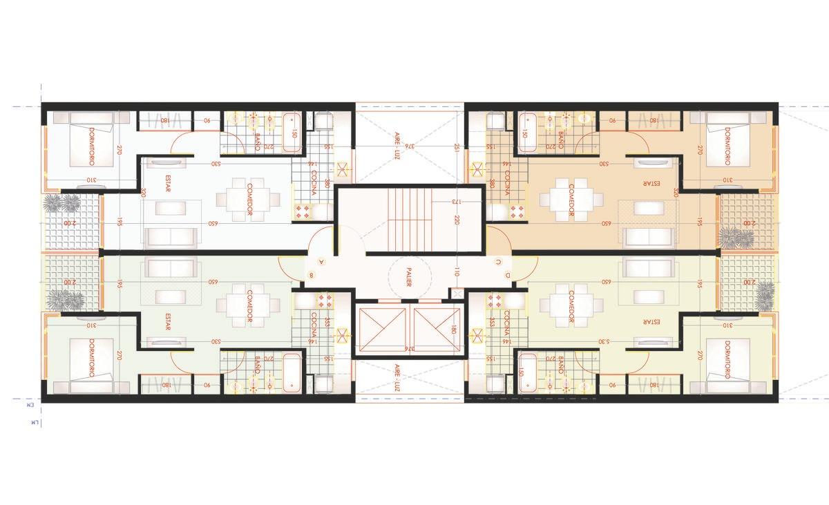 1 dormitorio con terraza exclusiva en zona unr medicina