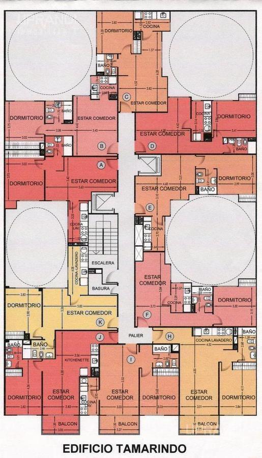1 dormitorio - interno - con renta