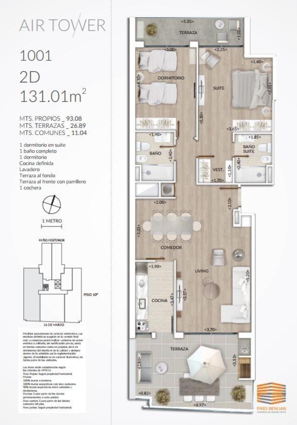 1 dormitorio, oficina, pocitos, venta, en pozo.