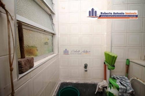 1 dormitório para locação definitiva prédio frente mar - ap0872