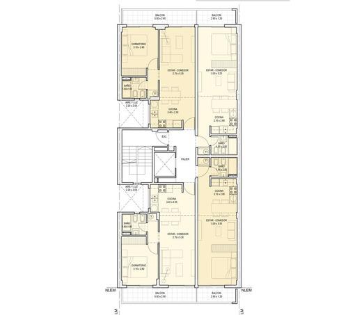 1 dormitorio y monoambientes en pleno centro de rosario