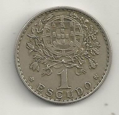 1 escudo - portugal - 1966