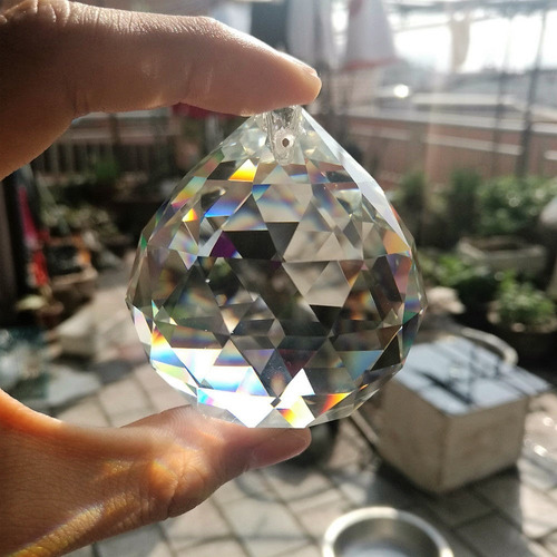 1 esfera bola de cristal k9 feng shui 50mm (5,0 cm)