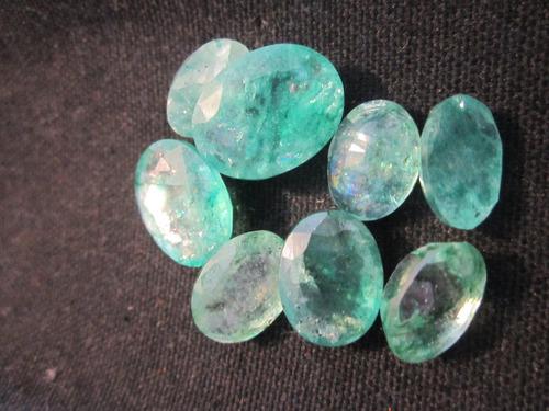 1 esmeralda anillo matrimonio dije aretes amuleto oro plata