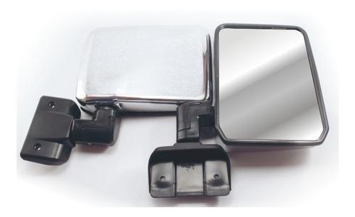 1 espejo retrovisor cromado toyota cara de vaca land cruiser