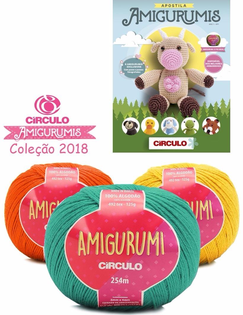Amigurumi - Clube da Costura | 1065x821