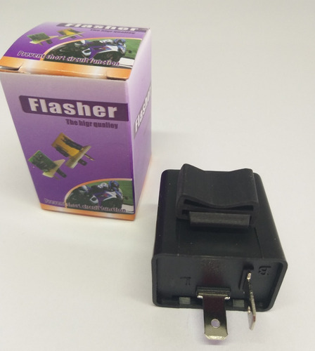 1 flasher rele electrónico variable, direccionales led moto