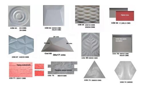 1 forma de abs 40x40 cms p/ cimento e gesso 3 d; eva grátis