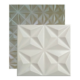 1 Forma De Abs 40x40 Cms Para Cimentício E Gesso 3 D;   07