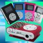 Reproductor Mp3 Micro Sd Soporta 16gb Radio Fm + Auricular