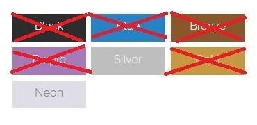 1 glitter ricosti cores
