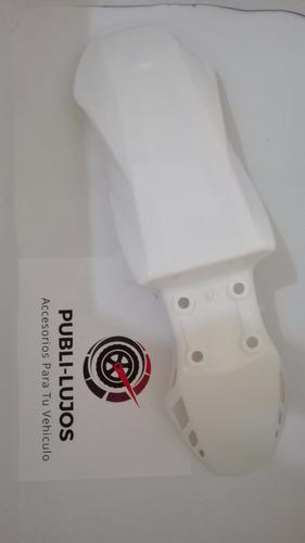 1 guardabarro guardafango delantero xm 180 blanco generico