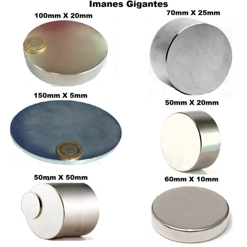 1 iman neodimio 10mm x 1mm circular biomagnetismo xto