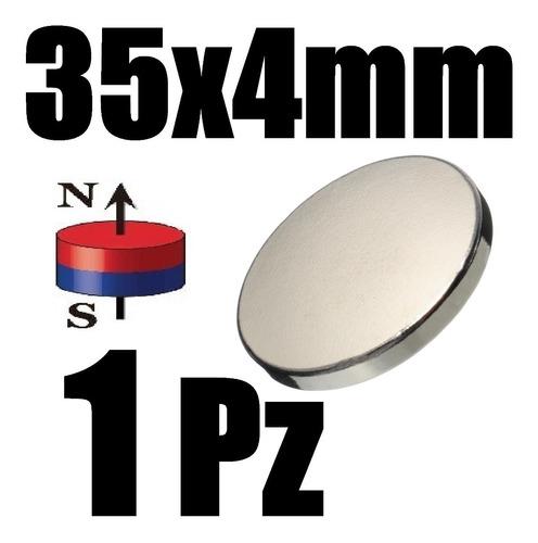 1 iman neodimio 35mm x 4mm biomagnetismo alcalinizar xto