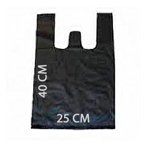 1 kg bolsa asa polipapel alta densidad color negro