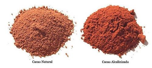 1 kg cacao en polvo alcalino orgánico