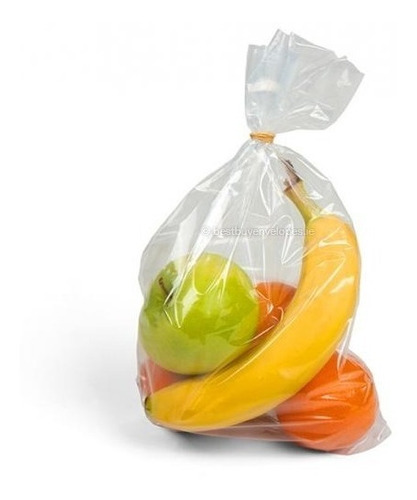 1 kilo bolsa grande de polietileno baja densidad cal 300