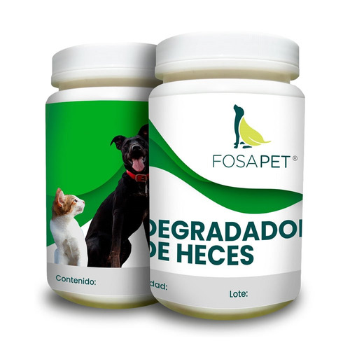 1 kilo catalizador biodegradable heces mascotas fosapet