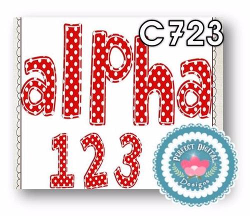 1 kit imprimible x6 alfabeto abecedario letras p/ publicidad