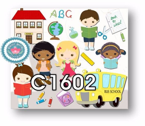 1 kit imprimible x6 escolar inicio clases estampado sublimar