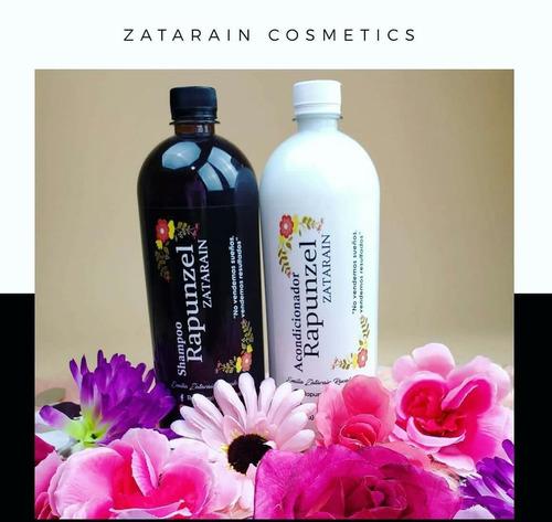 1 kit rapunzel zatarain (shampoo&acondicionador)