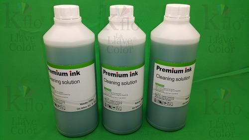 1 litro de líquido destapa cabezales  formula exclusiva!