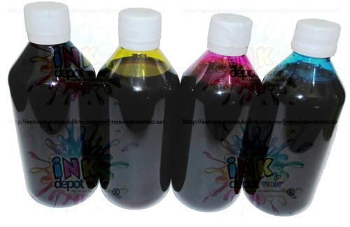 1 litro tinta 2 colores dye hp vivera epson lexmark canon