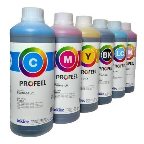 1 litro tinta corante inktec epson l800 l805 l810 l850 l1800