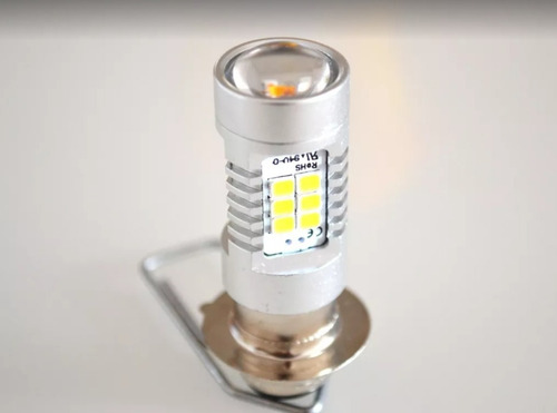 1 lâmpada led 21 leds  m5 h6 moto honda pop biz bros
