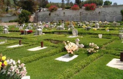 1 lote d panteón con servicio funerario- jardines d recuerdo